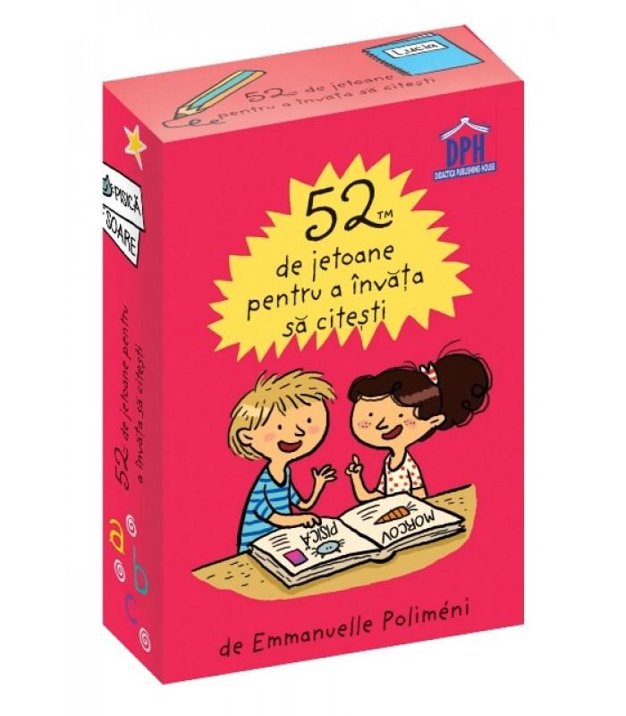 52 de jetoane pentru a invata sa citesti