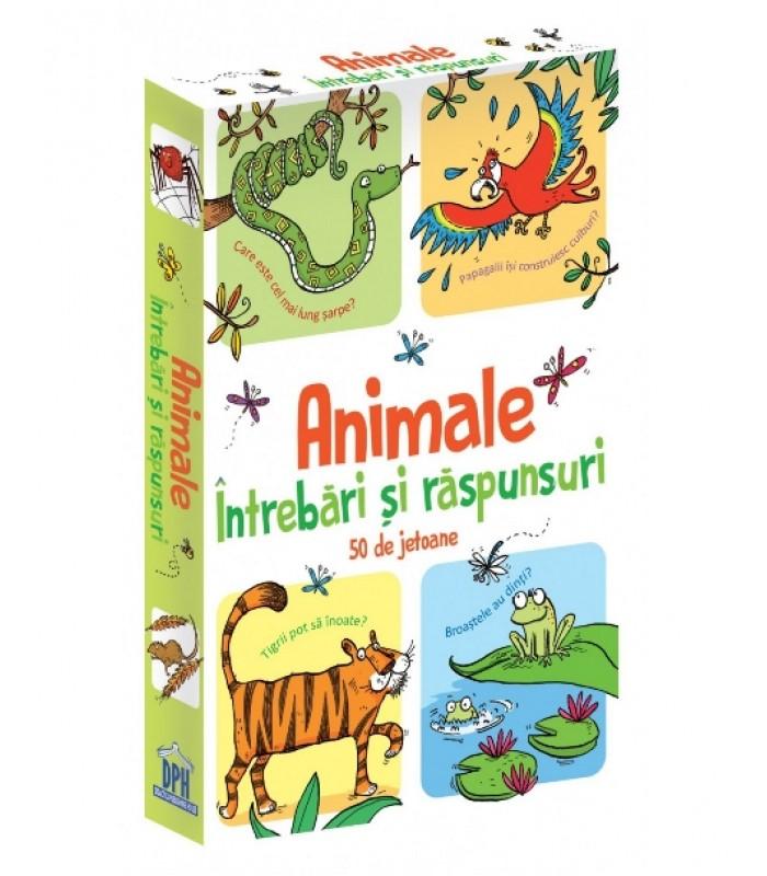 Animale-Intrebari si raspunsuri-50 de jetoane