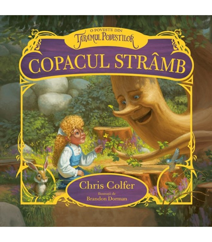 """Copacul stramb"" - Chris Colfer,Brandon Dorman"
