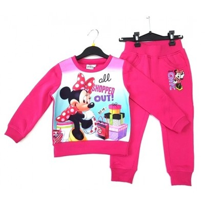 Trening roz Minnie Mouse 3-8ani