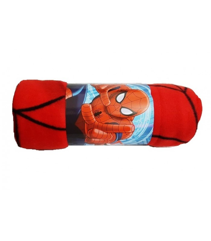 Patura polar fleece Disney-Spiderman
