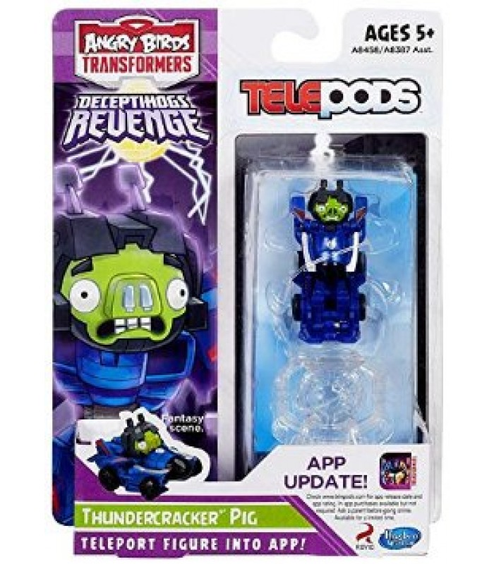 Angry Birds Transformers Thundercracker Pig Telepods