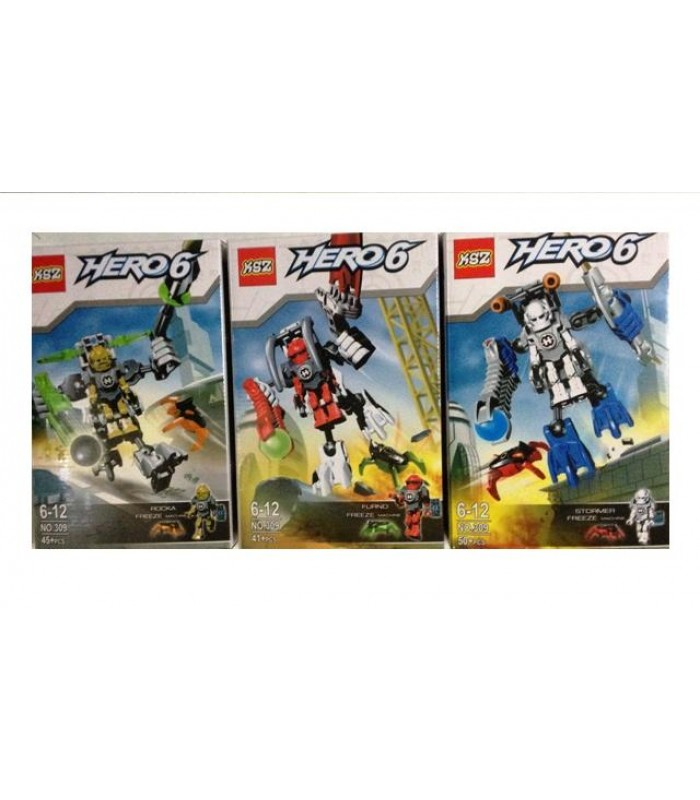 3 jocuri tip lego Hero 6 - Invasion from Below