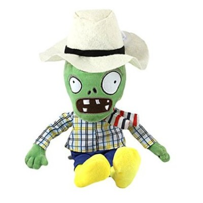 Plants vs Zombies-White Hat Green Zombi