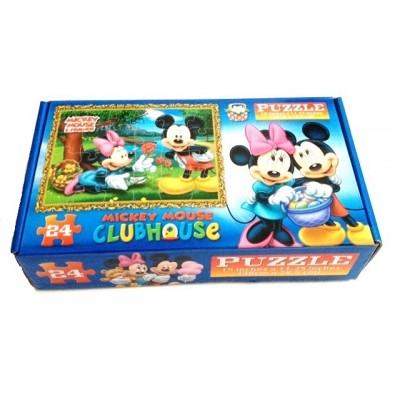 Puzzle 24 piese Clubul lui Mickey Mouse