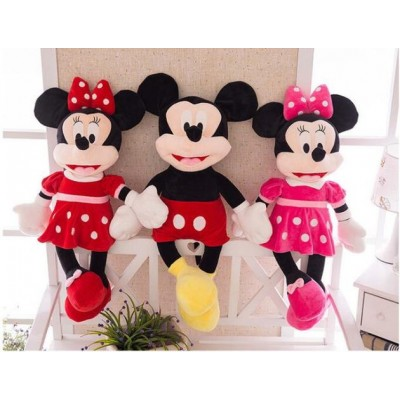 Set Minnie si Mickey Mouse plus 55cm