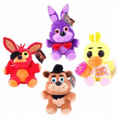 FNAF Five Nights at Freddy's set 4 jucarii de plus