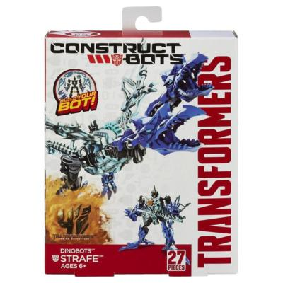 Transformers Age of Extinction Construct Bots Dinobots 2 in 1 Strafe