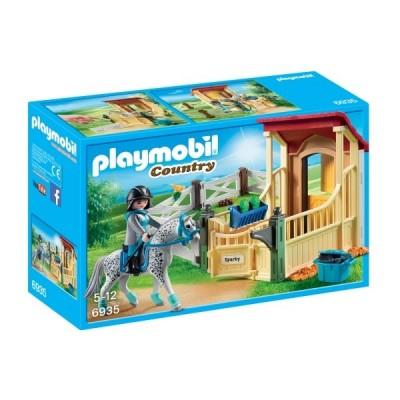 Playmobil Country– Grajd si cal Appaloosa (PM6935)