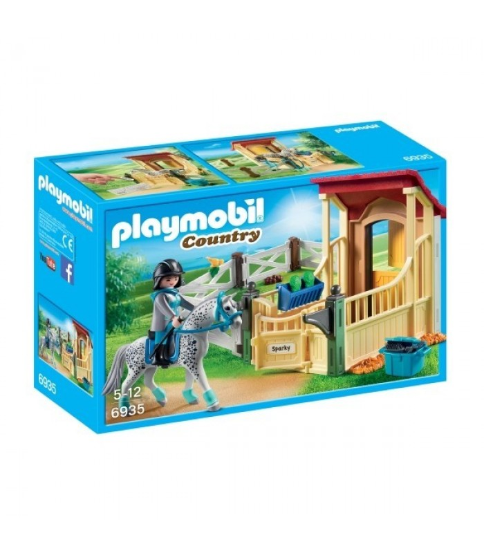 Playmobil Country– Grajd si cal Appaloosa (PM6935)