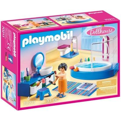 Playmobil Dollhouse– Baia familiei (PM70211)