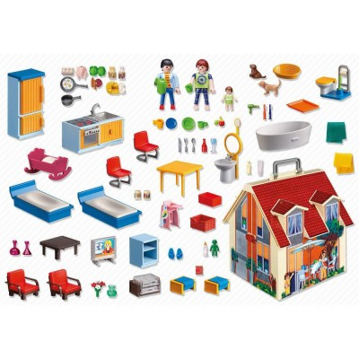 Playmobil Dollhouse – Casa de papusi mobila (PM5167)