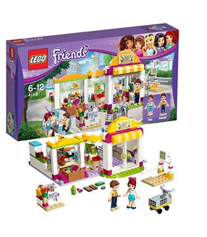 Lego Friends-Furgoneta de hot dog din parcul de distractii (41129)
